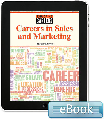 Exploring Careers: Careers in Sales and Marketing eBook