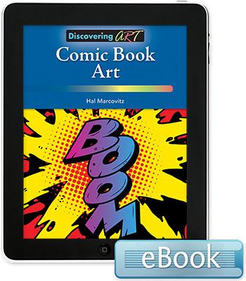 Discovering Art: Comic Book Art eBook
