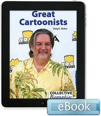 Collective Biographies: Great Cartoonists eBook
