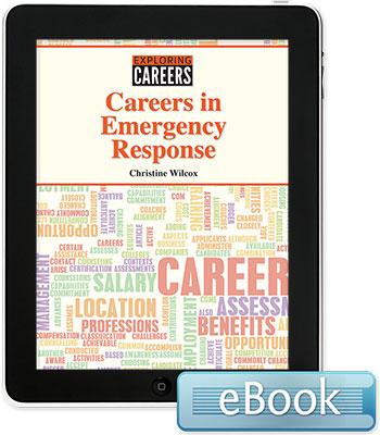 Exploring Careers: Careers in Emergency Response eBook