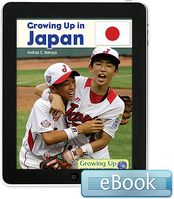 Growing Up in Japan - eBook