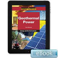 Compact Research: Energy and the Environment: Geothermal Power