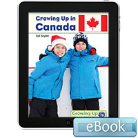 Growing Up in Canada - eBook