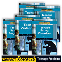 Compact Research: Teenage Problems Series - 8 Hardcover Books