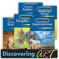 Discovering Art - 5 Hardcover Books