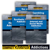 Compact Research: Addictions Series - 5 Hardcover Books