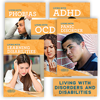 Living with Disorders and Disabilities Hardcover Set